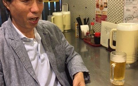 西葛西らーめん朝日堂の社長との語らい?