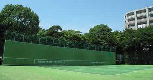 ファミリースポーツ広場 壁打ちテニス