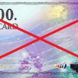オーケーストアで使えないJCBギフト1000円券