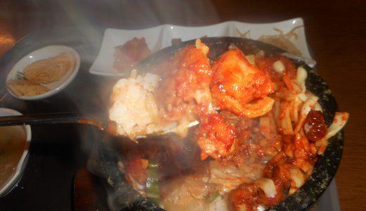 西葛西・明洞のチーズ石焼鶏カルビで汗をかく!
