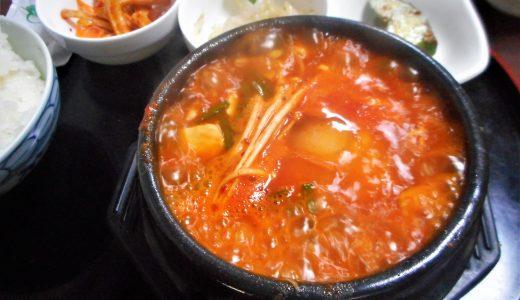 西葛西・韓国家庭料理オアシスの隠れ家純豆腐チゲ