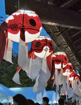 新川金魚ちょうちんまつり